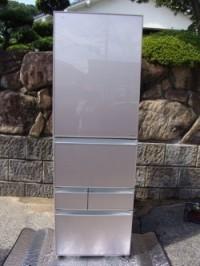 東芝 426L 5ドア冷凍冷蔵庫 (右開き) GR-G43GXVE(ZN)