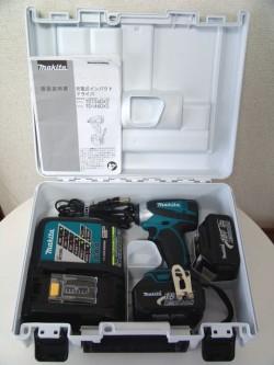 マキタ 18V インパクトドライバー TD146DMX2