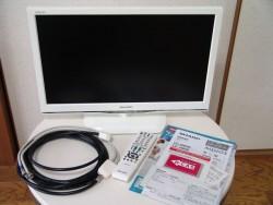 シャープ アクオス 液晶テレビ  LC-22K90