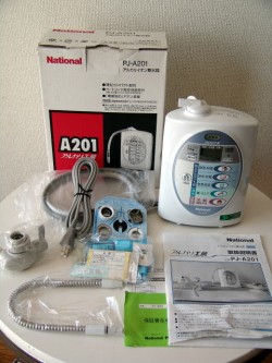 アルカリイオン整水器 PJ-A201