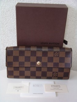 ヴィトン ダミエ N61734 ポルトフォイユサラ 長財布