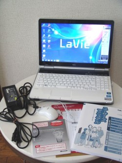 NEC Lavie PC-LL750ES6W