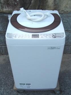 シャープ 洗濯機 ES-A70E9 7K 14年