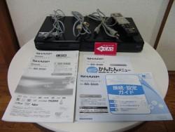 シャープ AQUOS ブルーレイレコーダー BD-S520
