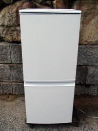 シャープ 冷蔵庫 SJ-14Y-W