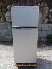 SHARP  2ドア 冷凍冷蔵庫 118L SJ-H12W 2014年製