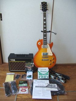 Blitz Leopard   BLP-450 エレキギターセット