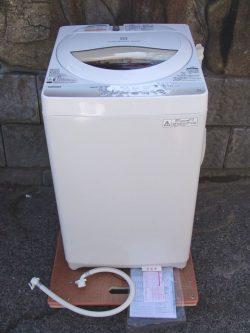 東芝 全自動洗濯機 AW-5G2 5Kg 2015年製
