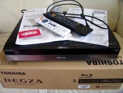 東芝 REGZA DBR-Z150 HDD / DVD レコーダー