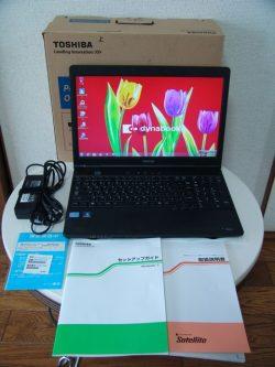東芝 dynabook B551/E Win7