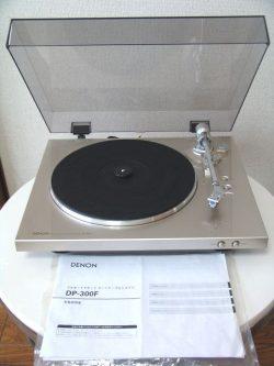 DENON レコードプレーヤー DP-300F