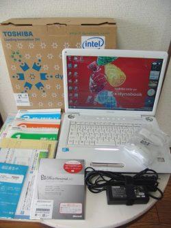 東芝 dynabook TX 64HS Vista Home Premium