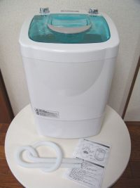 小型洗濯機2.0kg MyWAVE・シングル2.0