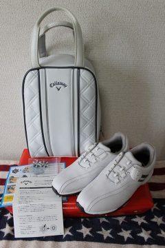 Callaway キャロウェイ アーバンスタイル エルエス レディース ゴルフシューズ Urban Style LS  出張買取 広島