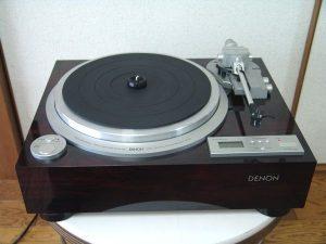 DENON レコードプレーヤー DP-59L 出張買取 広島